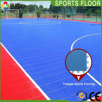 Interlock Floring Futsal ce standard pp interlocking portable outdoor futsal court
