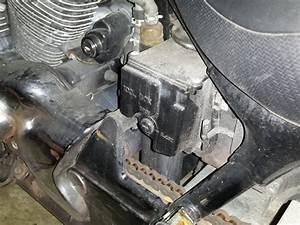 How To Access The 2006 Honda Shadow Spirit 750 Toolbox
