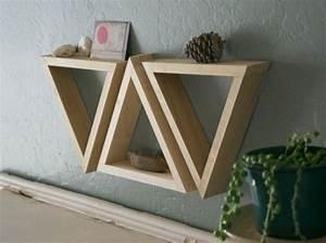 Küche Selber Bauen Holz : einfach dreieck regal dreiecke holz pinterest selber bauen ~ Lizthompson.info Haus und Dekorationen