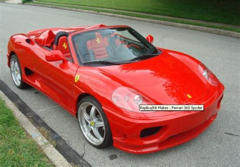 Ferrari 360 Modena Based On Toyota Mr2