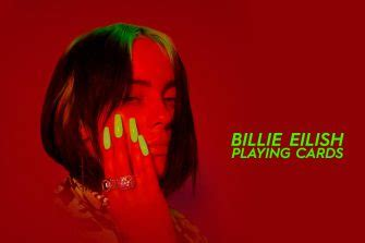 Check out our billie eilish card selection for the very best in unique or custom, handmade pieces from our birthday cards shops. Billie Eilish playing cards   Cardvolution