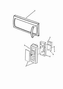 Maytag Model Mmv4205aab Microwave  Hood Combo Genuine Parts