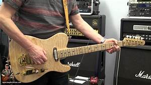 Custom Telecaster With And Without A Stetsbar Pro Ii