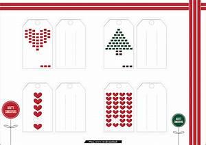 étiquettes De Noel à Imprimer : des tiquettes de no l imprimer vie de miettes ~ Melissatoandfro.com Idées de Décoration