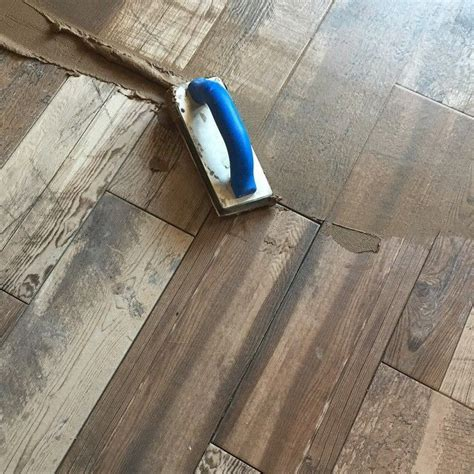 Grouting the 6x24 Marazzi ?Montagna? Weathered Gray wood