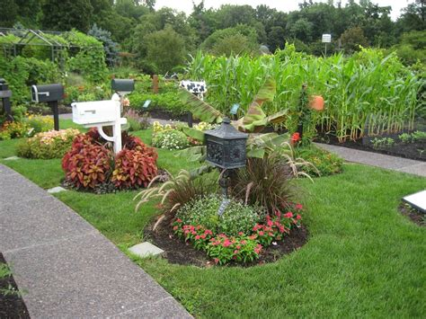 Flower Bed Landscaping Ideas The Photo Left Shows