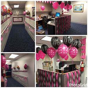 How To Make A Checklist Decorating Office For Birthday Party Cubicle Birthday
