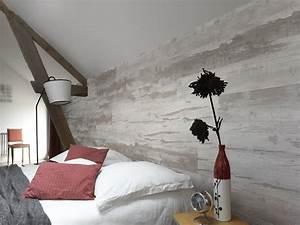 Lame Bois Pour Construction Chalet : le lambris transforme les murs leroy merlin ~ Melissatoandfro.com Idées de Décoration