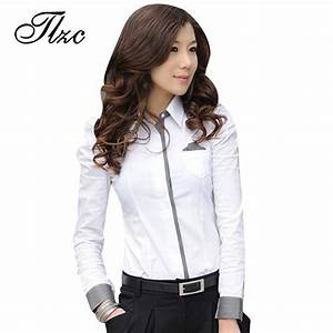Aliexpress.com : Buy TLZC Women Shirt New Fashion Office ...