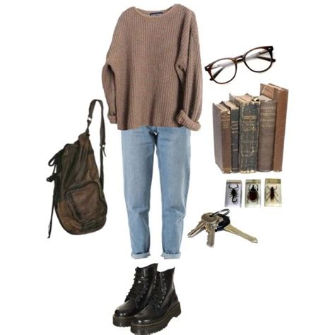 polyvore soft outfits clothes grunge aesthetic boy cute clothing winter simple