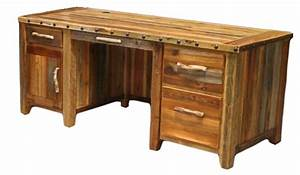 bradley39s furniture etc utah rustic office and student With barnwood desk for sale