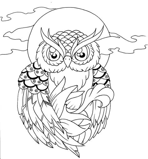 owl outline drawing owl lineart 4 10 2012 by your poison on deviantart