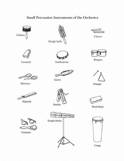 Percussion Instruments Drawings Symphony Elementary Instrument Orchestra