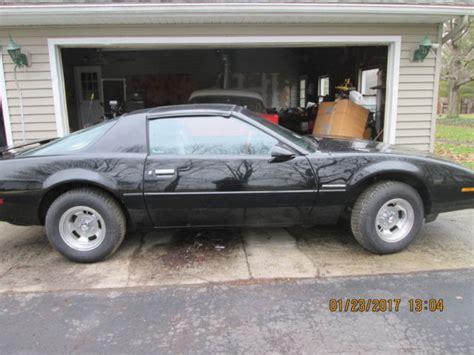 Pontiac Firebird Fastback Black For Sale