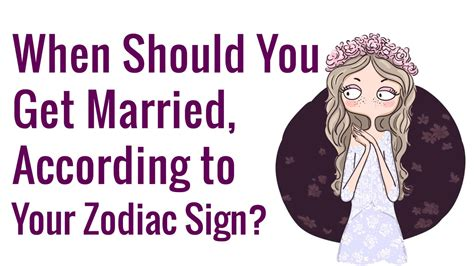 When Should You Get Married, According to Your Zodiac Sign?