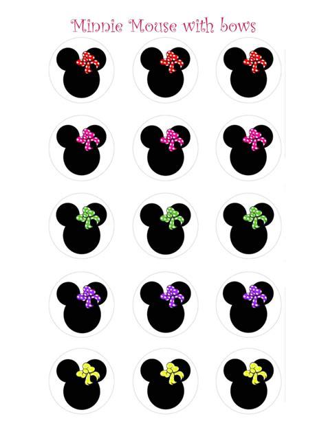 printable minnie mouse bow joy studio design