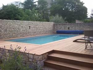 Piscine Semi Enterrée Coque : piscine bois enterr e forum ~ Melissatoandfro.com Idées de Décoration