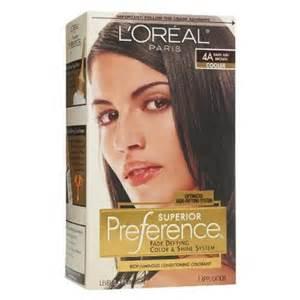 L'Oreal Dark Ash Brown Hair Color