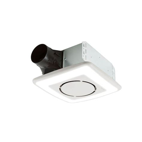 nutone light and exhaust fan nutone invent series 110 cfm ceiling exhaust bath fan with