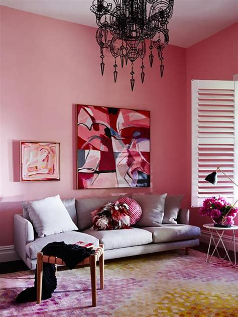 dark rose paint color warm up your home with pink wall colour aliz s wonderland