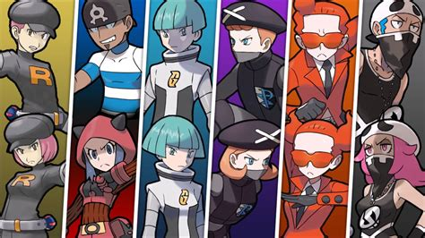Pokemon All Antagonist Teams Grunt Battle Themes