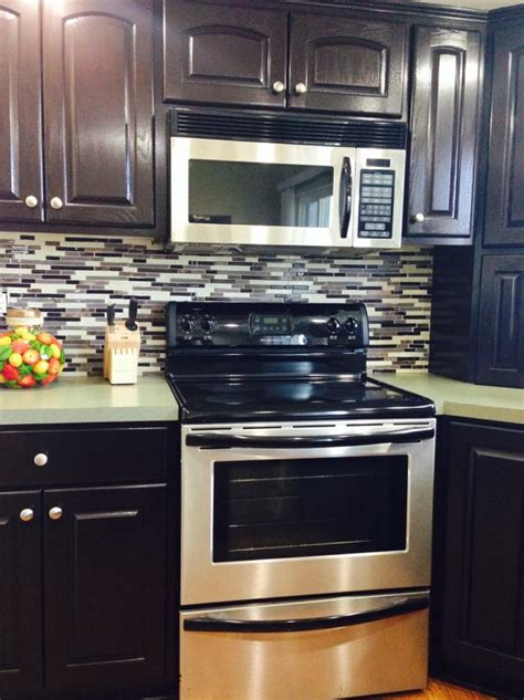java gel stain kitchen cabinets java gel stain kitchen transformation general finishes 7615