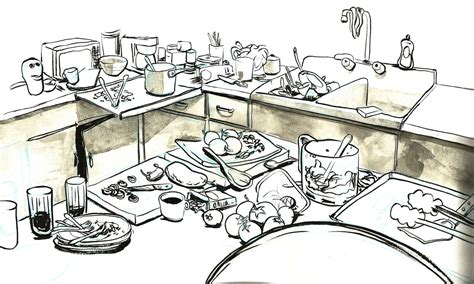 pictures  dirty kitchens