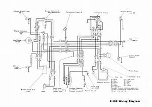 Honda C100 Wiring Schematic - Honda 4-stroke Net