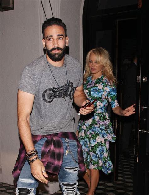 Pamela Anderson 'engaged To Footballer Boyfriend Adil Rami