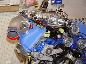 Supercharger Drive System For The Ford 03