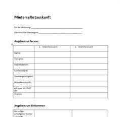 Wohnung Mieten Selbstauskunft by Mietschuldenfreiheitsbescheinigung Vorlage Word Kebut