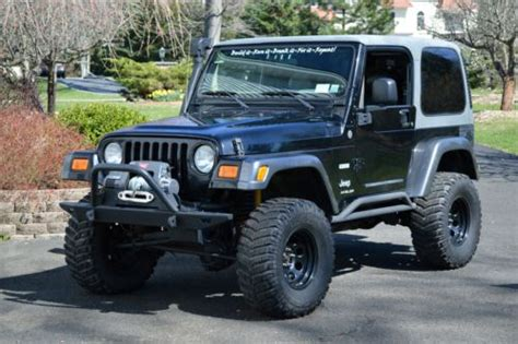 Buy Used 2004 Jeep Wrangler Columbia Edition Trail Rated 5