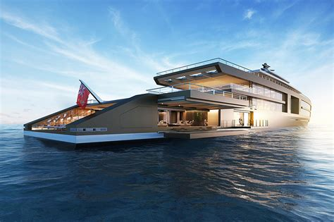 Luxury Superyacht 'nature' By Sinot Exclusive Yacht Design