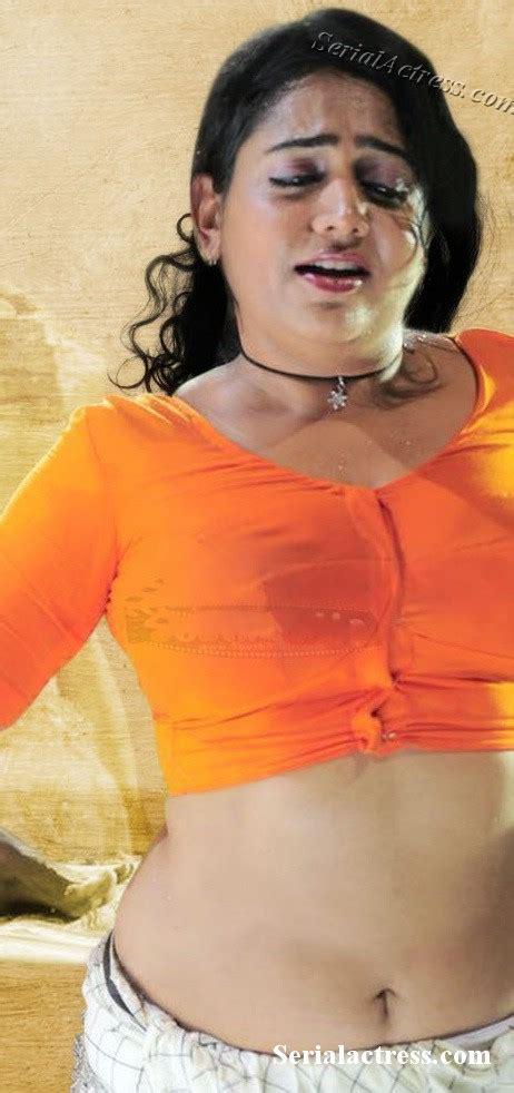 Indian Hot Actress Mallu Actress Lakshmi Sharma Sexy Navel