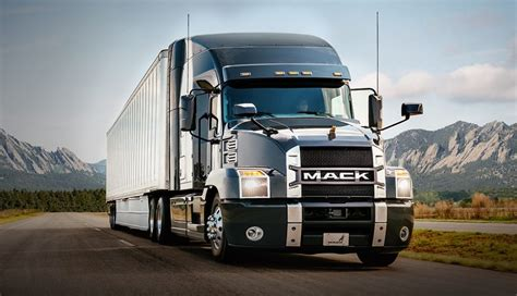 volvo tractor trailer for sale new 2018 mack anthem makes a semi truck a lot more like a