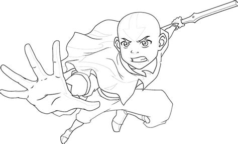 Free Coloring Pages Of Toph