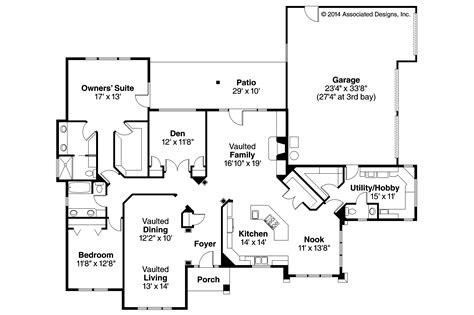 southwest style home plans southwest house plans mesilla 30 183 associated designs