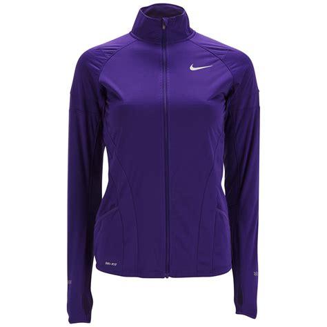 nike womens element shield full zip running jacket