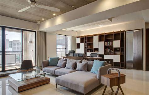 Modern Apartment Designs By Phase6 Design Studio. Slate Kitchen Floor. Bertch Vanities. Pier Mirror. Ethan Allen Frisco. Living Room Arrangements. Wall Of Windows. Orb Chandelier Lowes. Liquor Storage