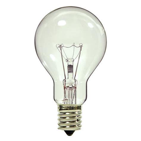 60w ceiling fan bulb intermediate base l2706