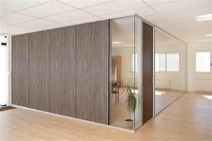Cloison Acoustique Bureau : cloison amovible design achat cloisons de bureau acoustique ~ Premium-room.com Idées de Décoration