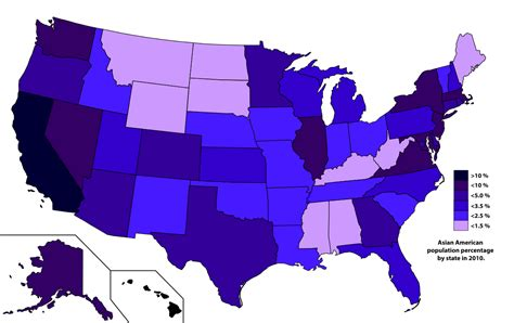 What Percentage Of Americans Are by Asian Americans
