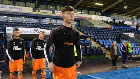 Newcastle United - White called up to England Under-18 squad