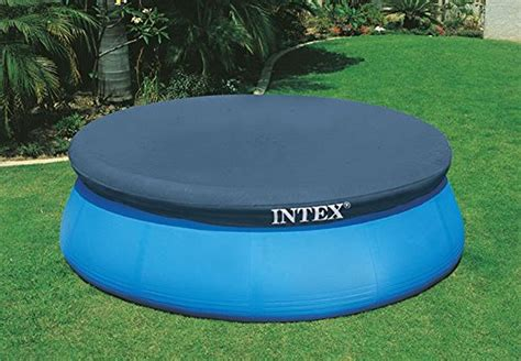 intex 6 foot pool cover 10 ft fast easy set intex round swimming pool cover above