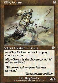 magic the gathering golem deck alloy golem price magic the gathering mtg on sale at