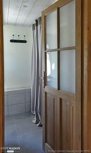 creation appartement dans ancienne grange en haute savoie With porte d entrée pvc avec miroir lumineux rond salle de bain