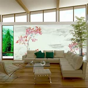 Exquisite wall coverings from china for Wall coverings living room