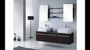 Mirroir Salle De Bain : armoire miroir salle de bain youtube ~ Dode.kayakingforconservation.com Idées de Décoration