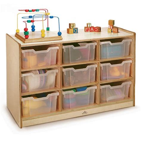 preschool storage furniture all gratnell clear tray storage cabinet by 759
