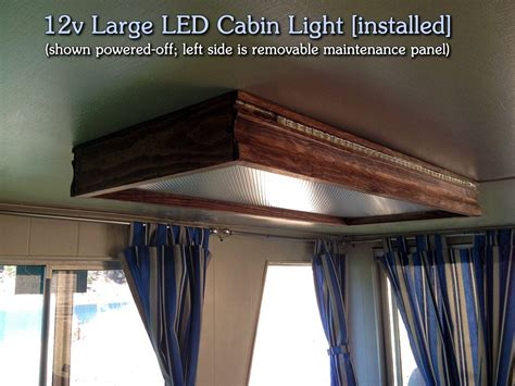 diy  large led cabin light